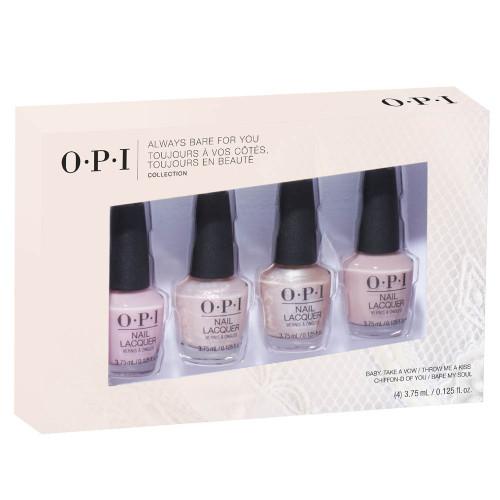 OPI Sheer Collection Nail Laquer 4er Mini Set