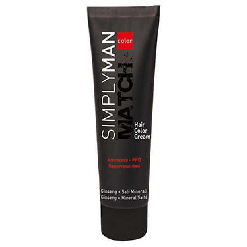 Simply Man Color Kit Kit 5 hellbraun & Colorationscreme 40 ml & Oxidant 40 ml