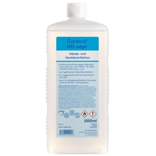 Curacid HD-sept Hände- und Hautdesinfektion 1000 ml