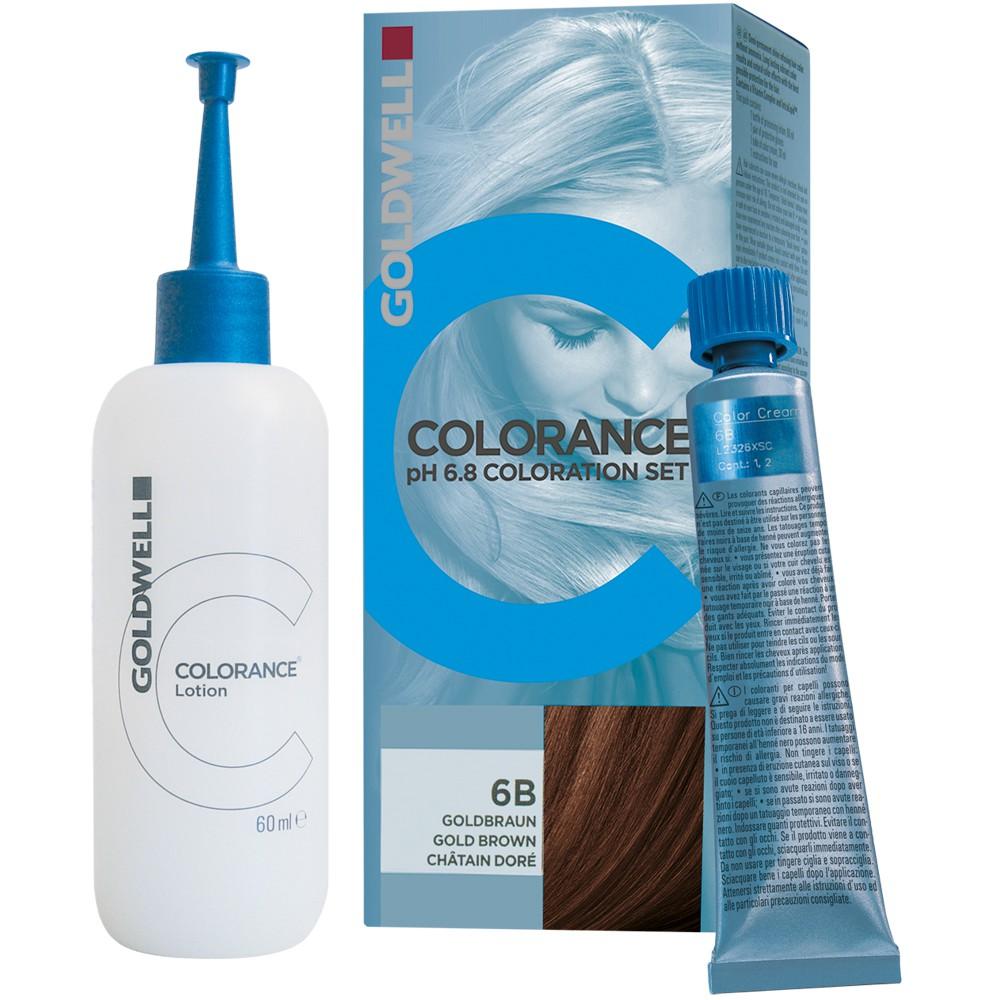 Goldwell Colorance pH 6,8 Tönung SET 4/G kastanie