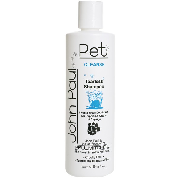 John Paul Pet Tearless Puppy & Kitten Shampoo