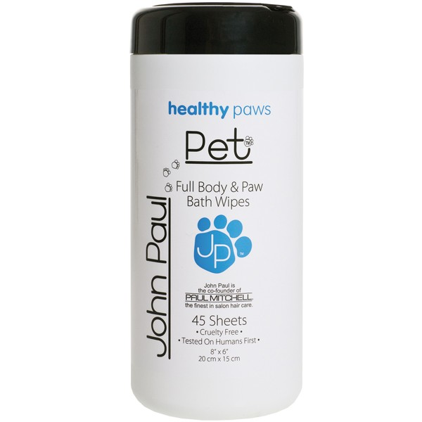 John Paul Pet Full Body & Paw Wipes