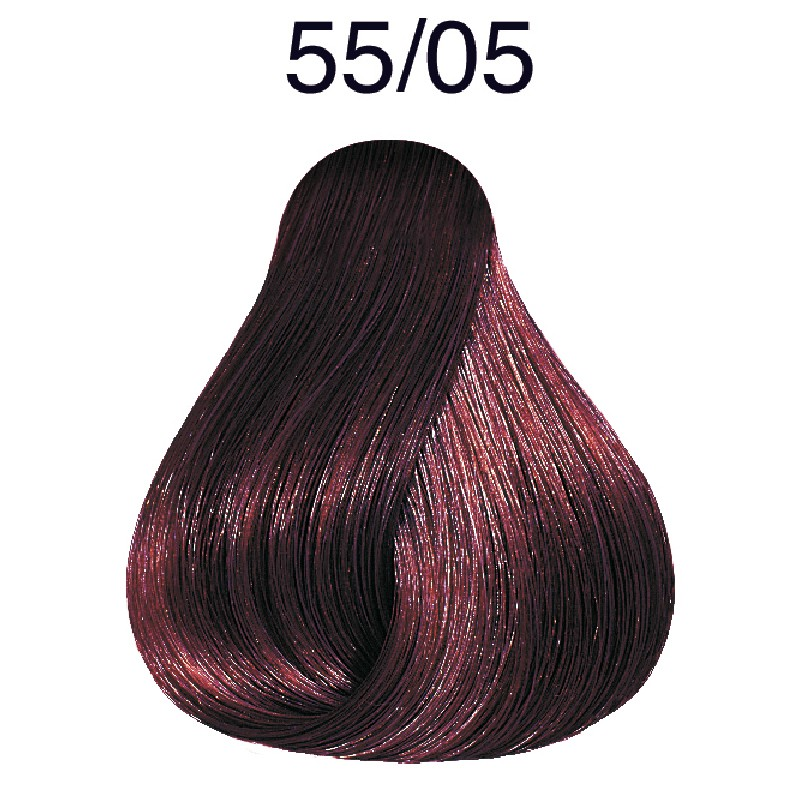 Wella Color Touch Plus 55/05 hellbraun-intensiv natur-mahagoni