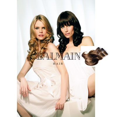 Balmain DoubleHair Color Extensions Cafe Blonde