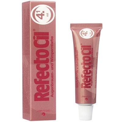 RefectoCil Augenbrauen- & Wimpernfarbe Nr. 4.1 Rot 15 ml