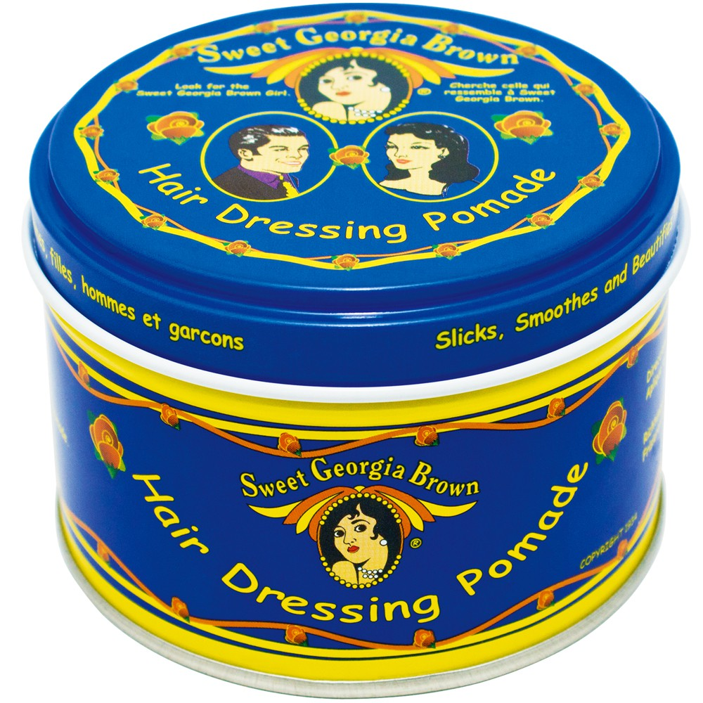 Sweet Georgia Brown Hair Dressing Pomade (ROT) 114 g