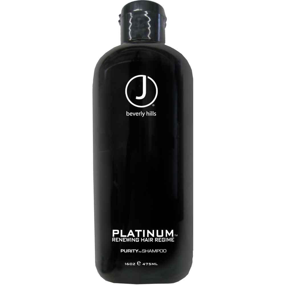 J Beverly Hills Platinum Purity Shampoo 475 ml