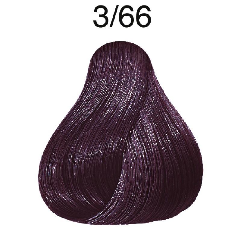 Wella Color Touch Vibrant Reds 3/66 dunkelbraun intensive violett