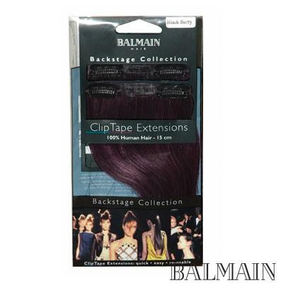 Balmain Clip Tape Extensions 15 cm Soft Coffee Bean