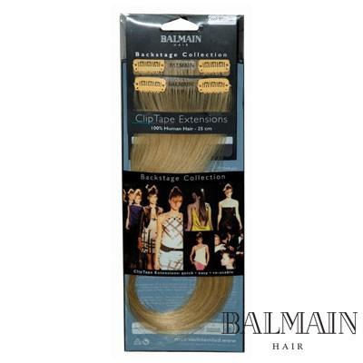 Balmain Clip Tape Extensions 25 cm Cafe Blonde;Balmain Clip Tape Extensions 25 cm Cafe Blonde