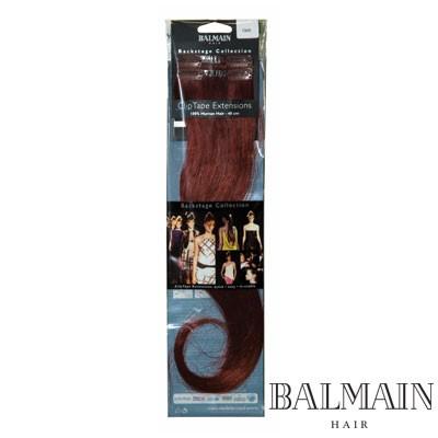 Balmain Clip Tape Extensions 40  cm Flame;Balmain Clip Tape Extensions 40  cm Flame