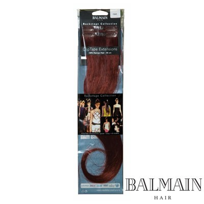 Balmain Clip Tape Extensions 40  cm Blackberry;Balmain Clip Tape Extensions 40  cm Blackberry
