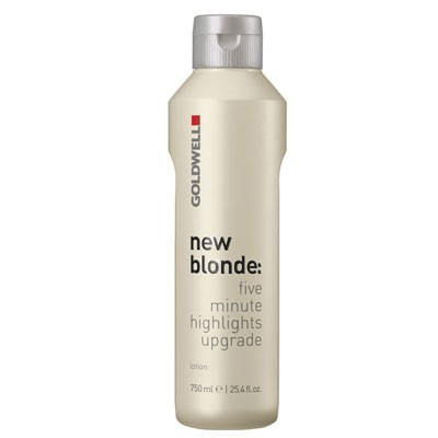 Goldwell new blonde Lotion five minute highlights upgrade