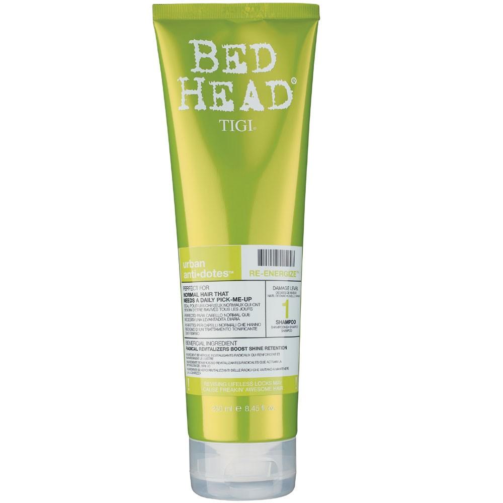 Tigi Bed Head Urban anti+dotes Re-Energize Shampoo 250 ml