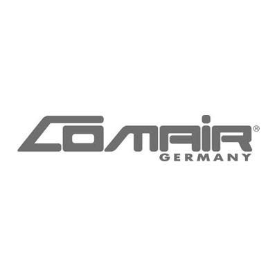 Comair Frisier-/Schneideumhang mit Band silbergrau