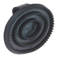 Kerbl Gummistriegel oval
