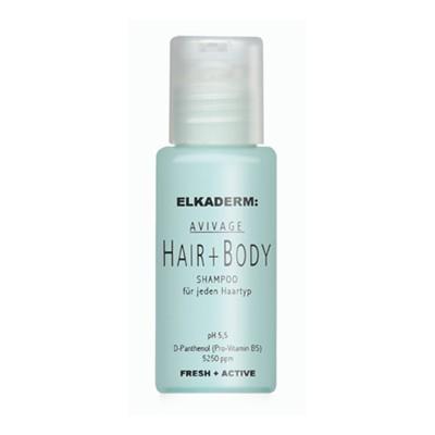 Elkaderm Avivage Hair & Body Shampoo