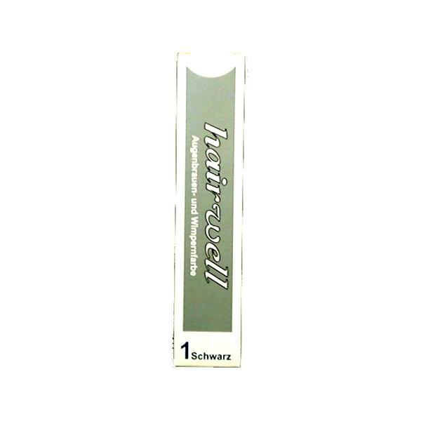 Hairwell Augenbrauen- und Wimpernfarbe Nr. 1 Schwarz 20 ml