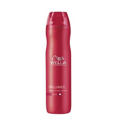 Wella Care³ Brilliance Shampoo kräftiges, coloriertes Haar