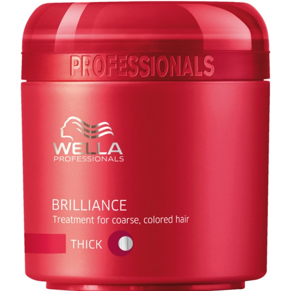 Wella Care³ Brilliance Mask kräftiges coloriertes Haar