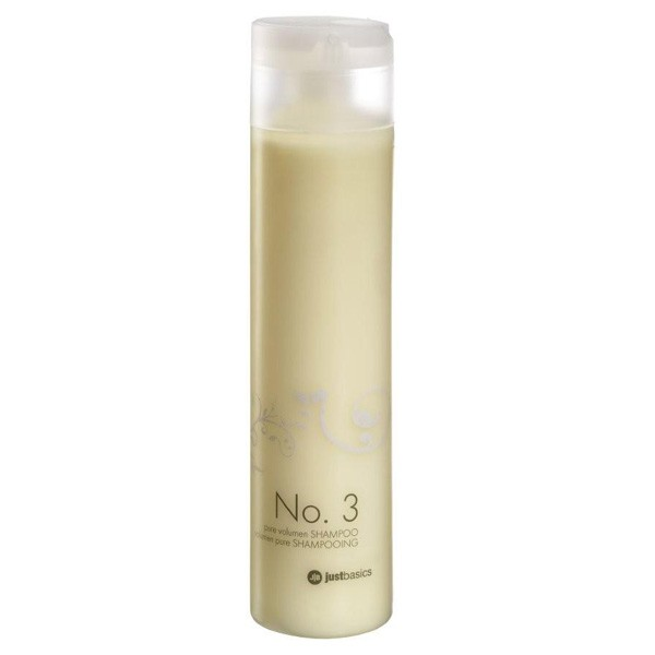 justbasics Pure Volumen Shampoo No. 3 250 ml