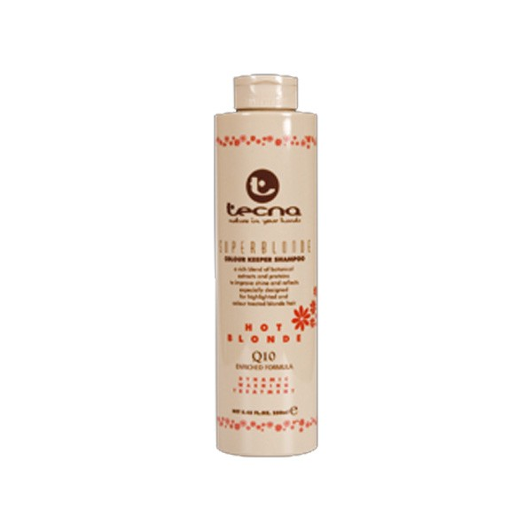 Tecna Color Keeper Superblond Hot Shampoo 250 ml