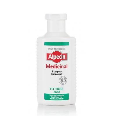 Alpecin Medicinal Shampoo Konzentrat bei fettigem Haar 200ml