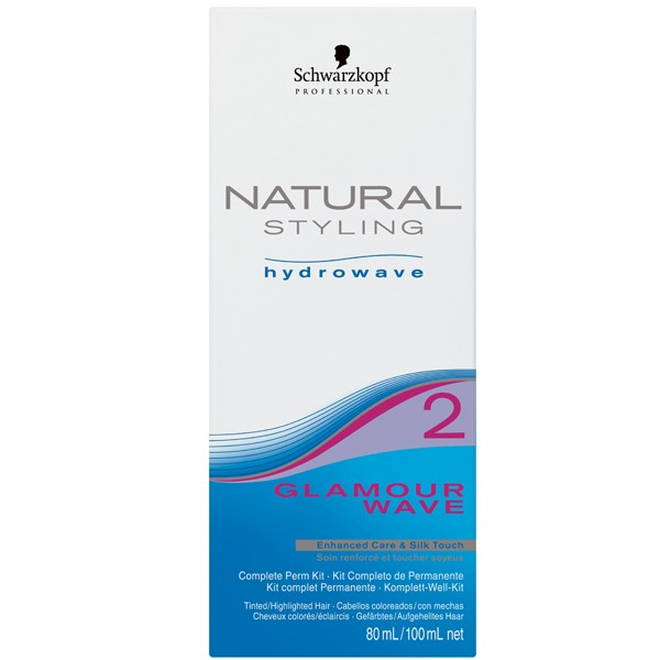 Schwarzkopf Natural Styling Hydrowave Glamour Wave KIT 2