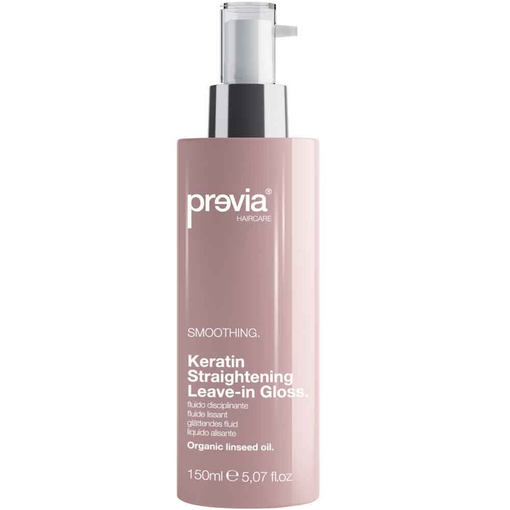 Previa Smoothing Keratin Straightening Gloss 150 ml