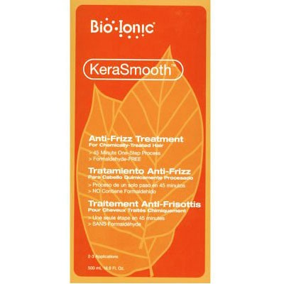 BioIonic KeraSmooth Anti-frizz Treatment Chemically Treated