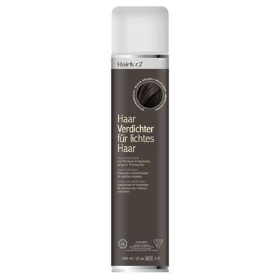 Hairfor2 Haarauffüller Schwarzbraun 300 ml