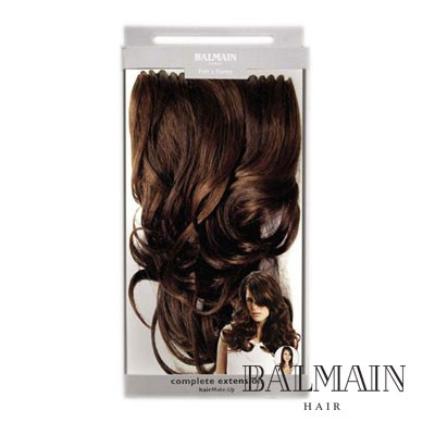 Balmain Hair Complete Extension 60 cm MYSTERIOUS BLACK;Balmain Hair Complete Extension 60 cm MYSTERIOUS BLACK