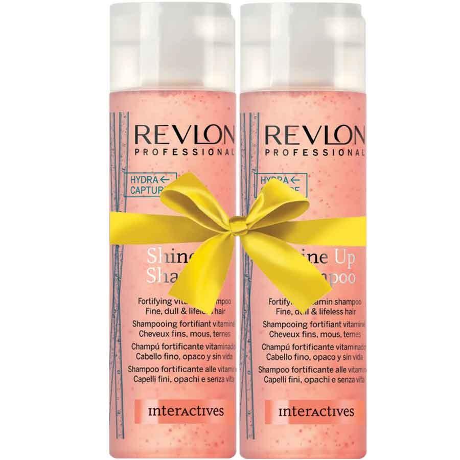 Revlon Interactives Shine up Shampoo 250 ml + gratis Shine up Shampoo 250 ml