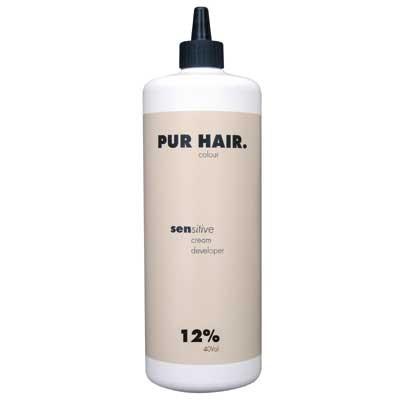 PUR HAIR. sensitive cream developer 12%