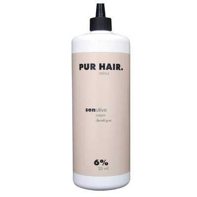 PUR HAIR. sensitive cream developer 6%