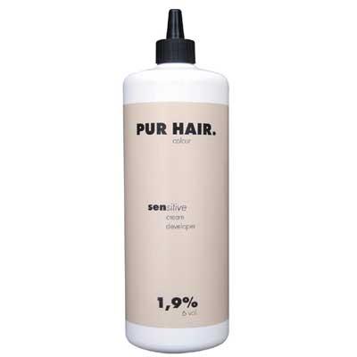 PUR HAIR. sensitive cream developer 1,9%