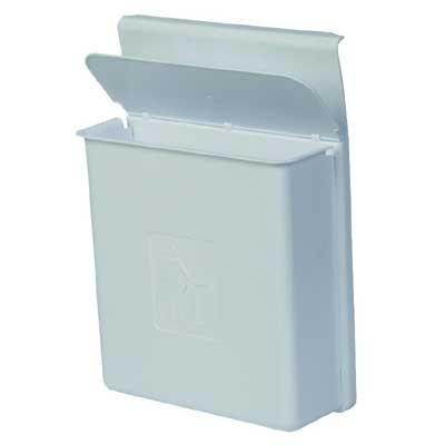 Efalock Abfallbehälter weiß