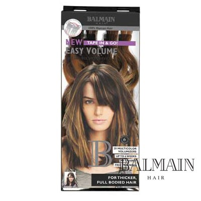 Balmain Easy Volume Tape Extensions Level 8