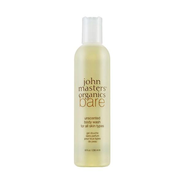 john masters organics Bodycare Bare Unscented Body Wash 236 ml