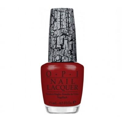 OPI Nagellack NLE55 Red Shatter