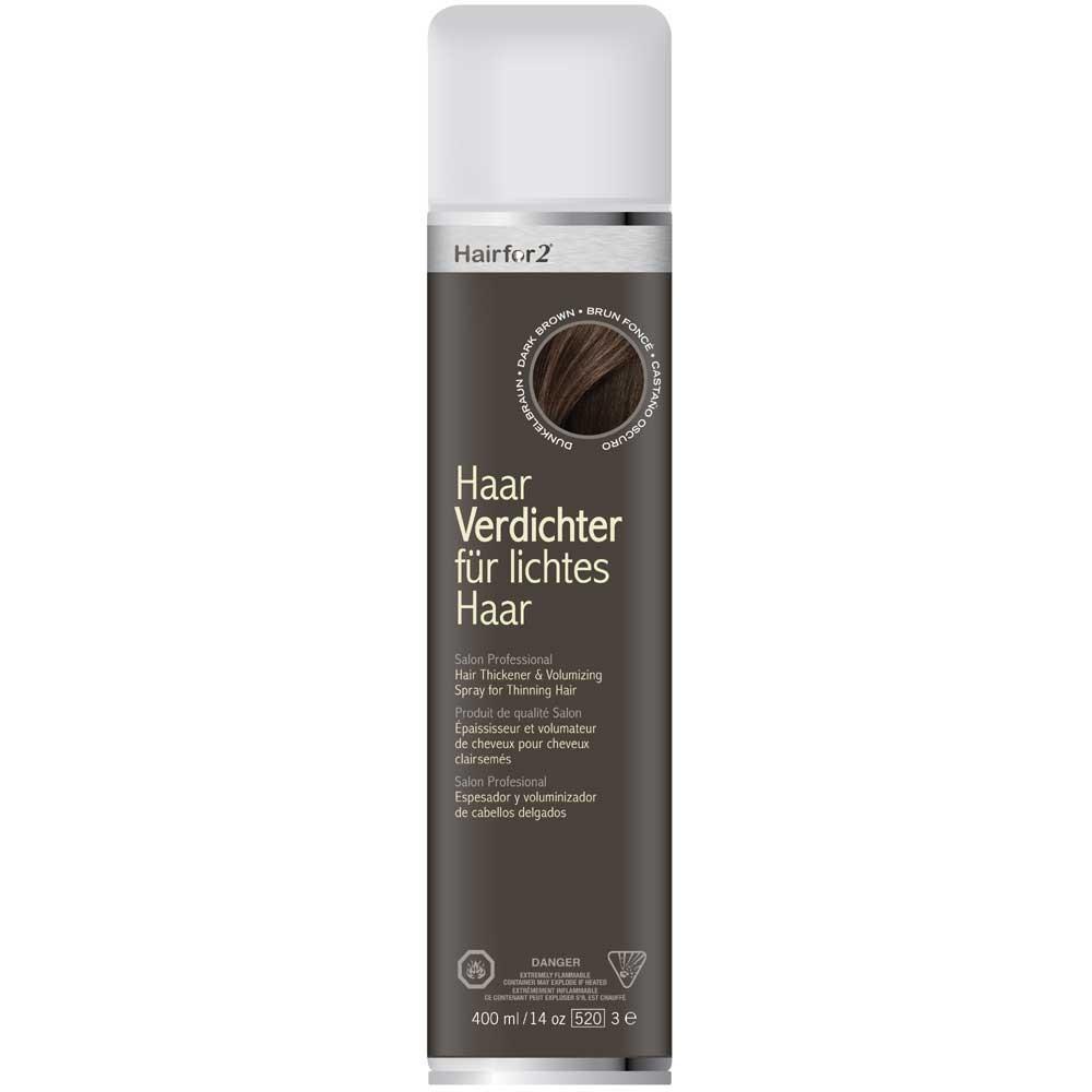 Hairfor2 Haarauffüller Dunkelbraun 400 ml
