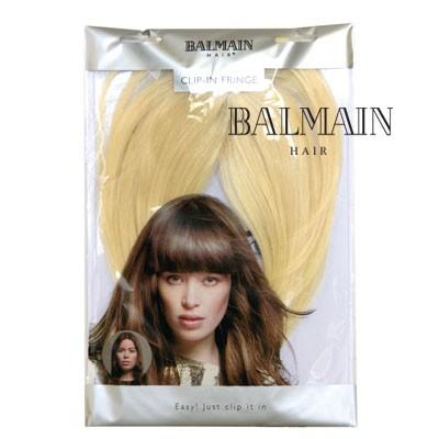 BALMAIN CLIP IN FRINGE CHOCOLAT BROWN;BALMAIN CLIP IN FRINGE CHOCOLAT BROWN