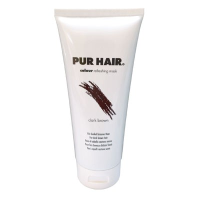 PUR HAIR Colour Refreshing Mask Dark Brown