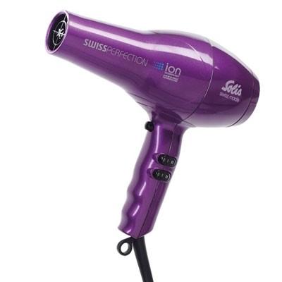 Solis Swiss Perfection Typ 440 Haartrockner violett