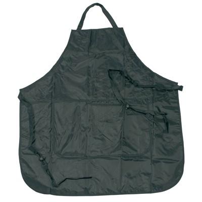 Comair Färbeschürze schwarz mit 2 Taschen