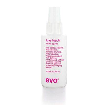 Evo Hair Straight Love Touch Shine Spray