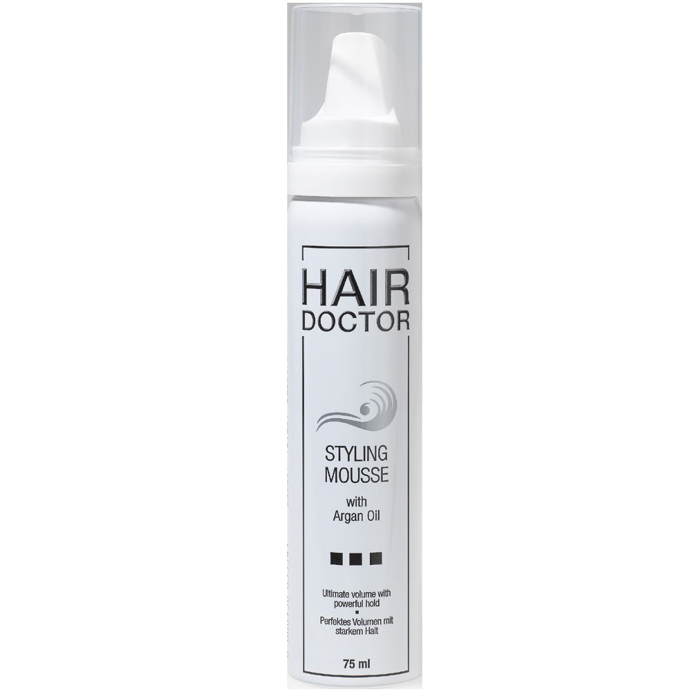 Hair Doctor Styling Mousse Strong mit Arganöl 75 ml