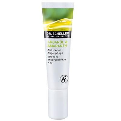 DR. SCHELLER Arganöl & Amaranth Anti-Falten Augenpflege