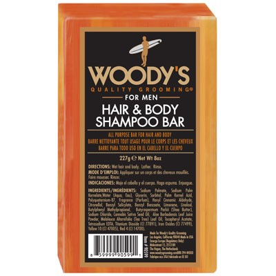 Woody`s Hair & Body Shampoo Bar