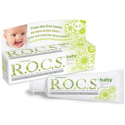 R.O.C.S. Zahncreme Baby Duftende Kamille